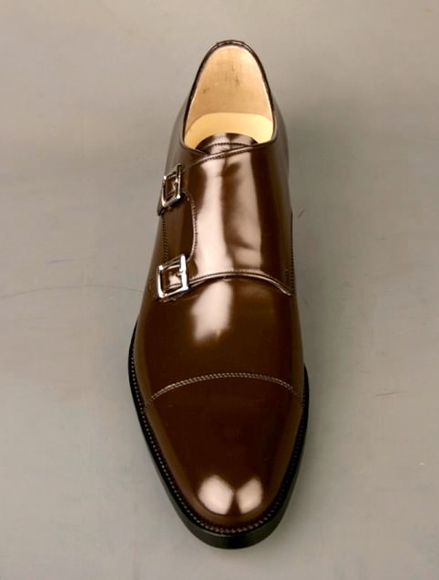 Custom Monk strap dress shoe