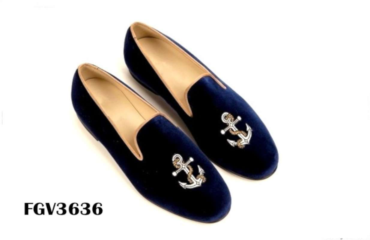 Mens Monogrammed House Shoes