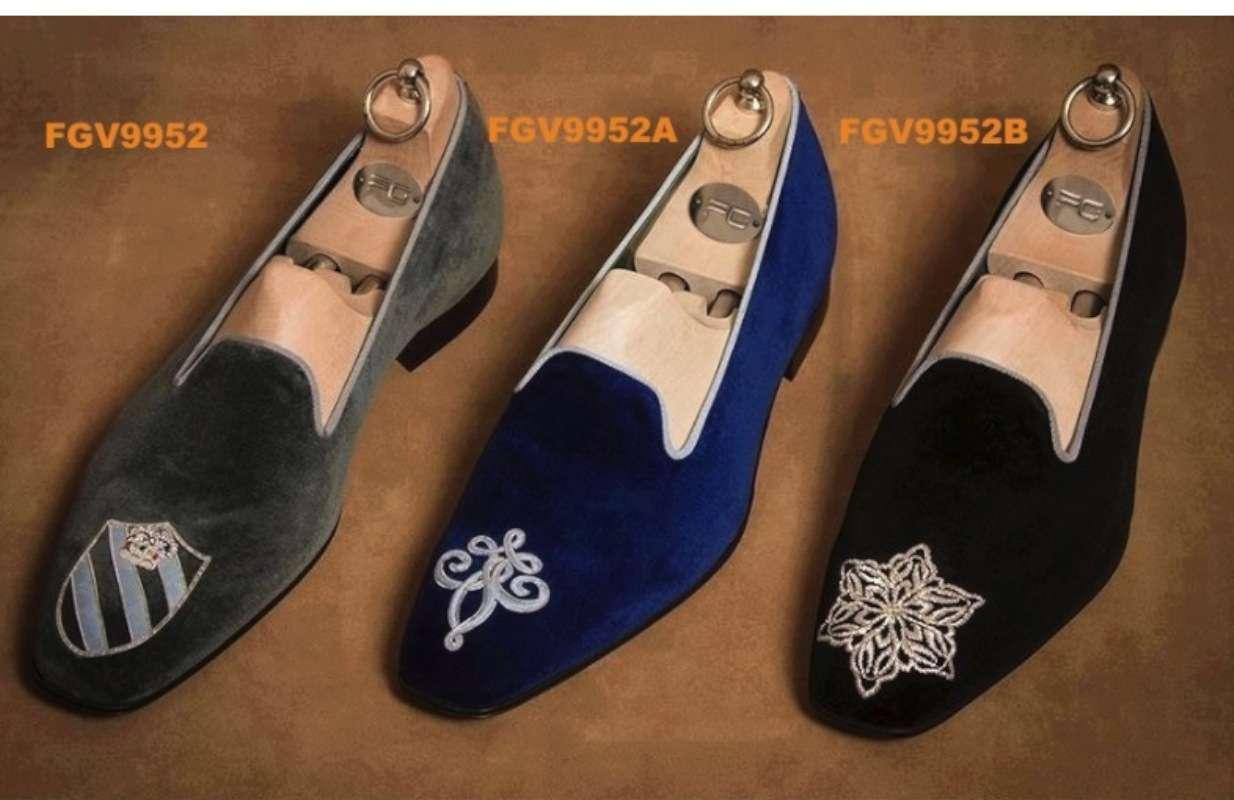 custom monogram loafers