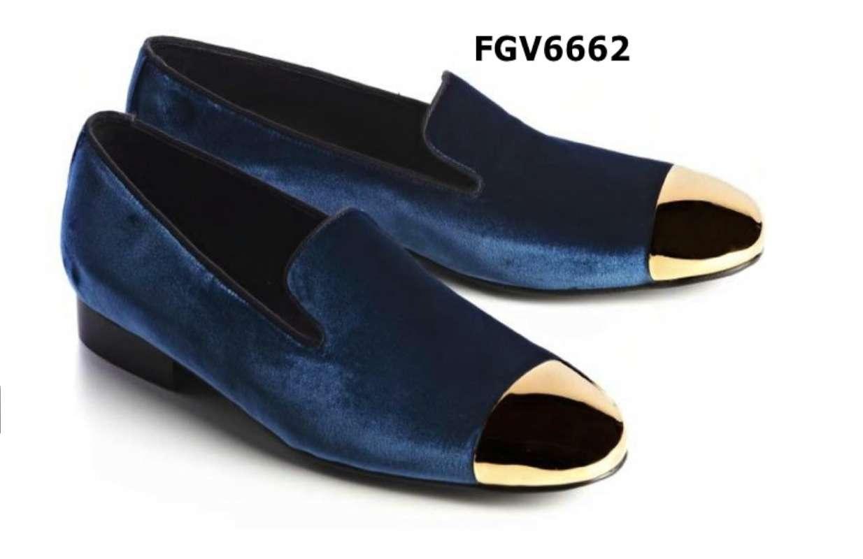 Velvet Loafers Mens Shoes