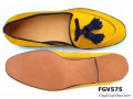 fgv575+yellow+tassel+velvet+loafer+fgshoes